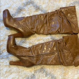 Jessica Simpson tall boots.  Size 8